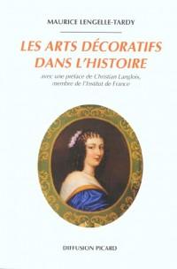 Les arts decoratifs dans l'histoire