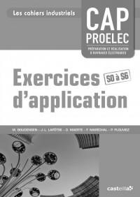 Exercices d'application CAP Proelec professeur