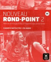 Nouveau Rond Point 2 Cahier d'Exercices + CD