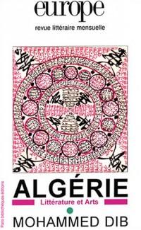 Europe, hors série : Algérie - Mohammed Dib