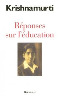 Réponses sur l'éducation