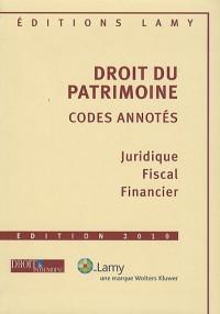 Droit du Patrimoine : Codes annotés