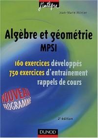 Exercices de mathématiques : Algèbre et géométrie MPSI, 1re année - MPSI, PCSI, PTSI - Exercices et rappels de cours