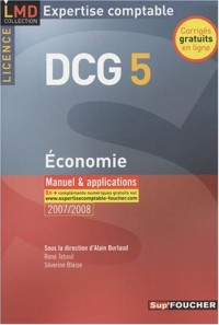 Economie DCG 5 : Manuel & applications