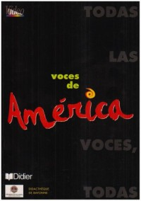 Voces de america (livret de dicactisation)