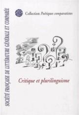 Critique et plurilinguisme