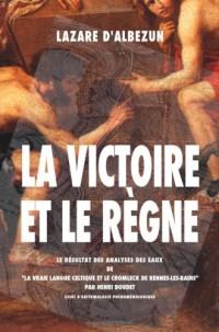 La Victoire Et Le Regne: Le Resultat Des Analyses Des Eaux De