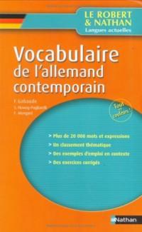 Vocabulaire de l'allemand contemporain