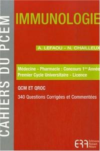Immunologie : Médecine - Pharmacie : Concours 1ere année, Premier Cycle Universitaire - Licence