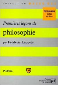 Premières leçons de philosophie