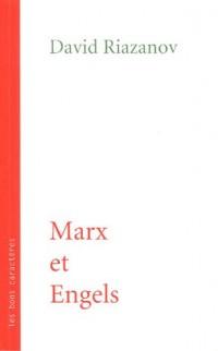 Marx et Engels : Conférences faites au cours de marxisme près l'Académie Socialiste en 1922