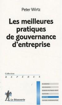 Les meilleures pratiques de gouvernance d'entreprise