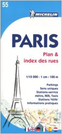 Paris : Plan et index des rues, 1/10 000