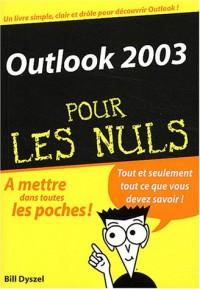 Outlook 2003 poche pour les Nuls