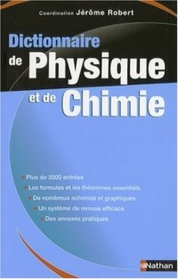 Dictionnaire de Physique et de Chimie