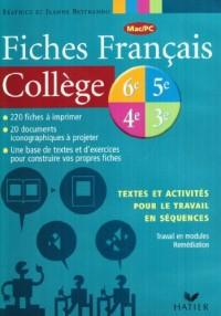 Français, 3e (Fiches, CD-Rom)