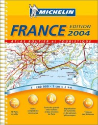 Atlas routiers : France, N° 20097 (A4 spirale)