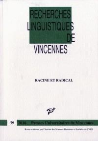 Racine et Radical