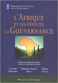 L'Afrique et les défis de la Gouvernance