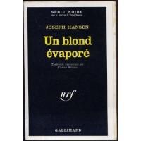 Un Blond évaporé