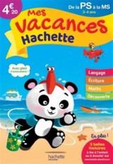 Mes vacances Hachette PS/MS - Cahier de vacances