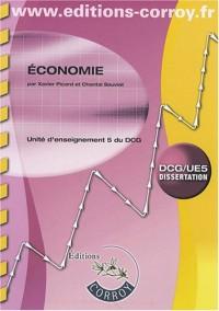 Economie UE5 du DCG : Enoncé