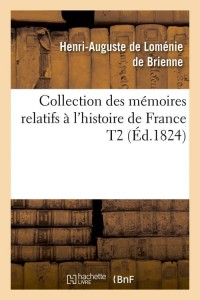 Memoires de l Histoire de France T2  ed 1824