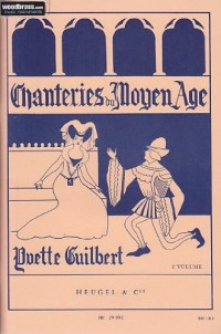 Chanteries du Moyen-Age - Volume 1
