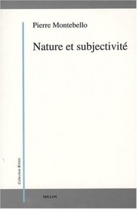 Nature et subjectivité