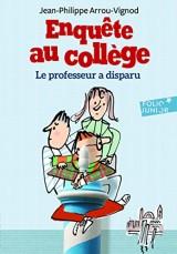 Enquête au collège, 1:Le professeur a disparu