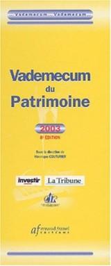 Vademecum du patrimoine. : 8ème édition 2003