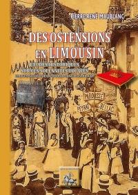 Des ostensions en Limousin : Etudes historiques sur ces solennités locales
