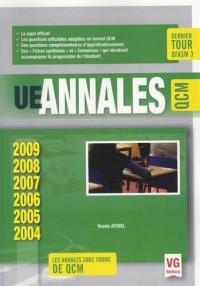 UE annales QCM : 2004-2009