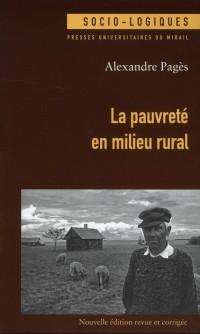 Pauvreté en Milieu Rural