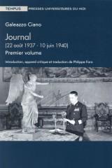 Journal : Tome 1, 22 août 1937-10 juin 1940