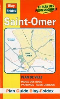 Plan de ville : St-Omer (avec un index)