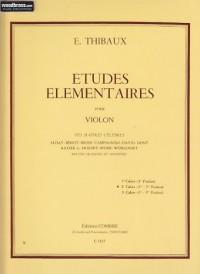 Etudes élémentaires vol.2