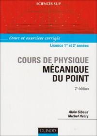 Mécanique du point : Cours de physique
