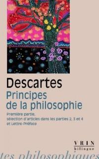 Principes de la philosophie. Première Partie
