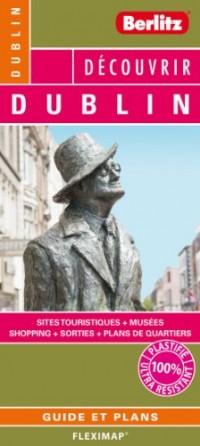 Dublin Flexi Map, Plan de Ville Touristique Plastifie,Infos Pratiques