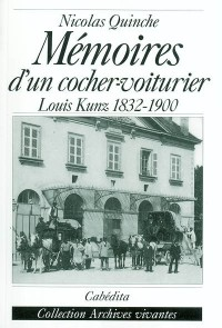 Memoires d'un cocher-voiturier