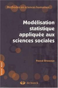 Modélisation statistique appliquée aux sciences sociales