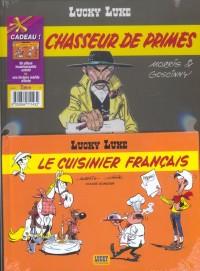 Lucky Luke, 2 BD pour le prix d'une : Chasseur de primes - Le Cuisinier français (gratuit)