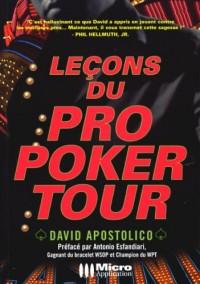 Leçons du Pro Poker Tour