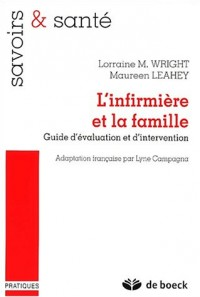 L'infirmière et la famille. Guide d'évaluation et d'intervention
