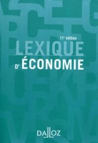 Lexique d'économie - 11e éd.
