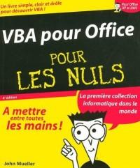VBA pour Office