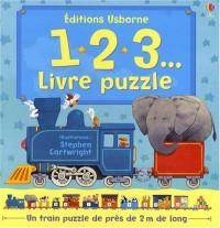 1 2 3... : Livre puzzle