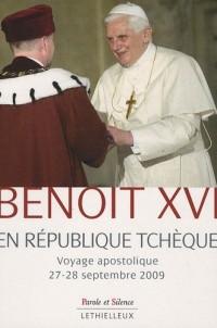 Benoît XVI en république tchèque : Voyage apostolique 27-28 septembre 2009