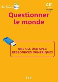 Les Cahiers Istra CE1 Questionner le monde - Clé USB- Ed. 2017